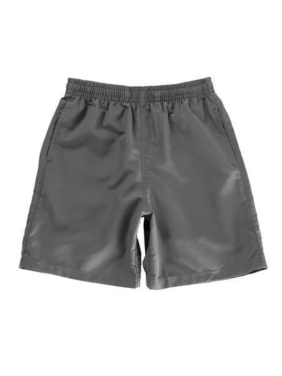 GREY BOYS MICROFIBRE SHORTS