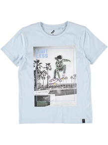 Boys Photo Print T-Shirt