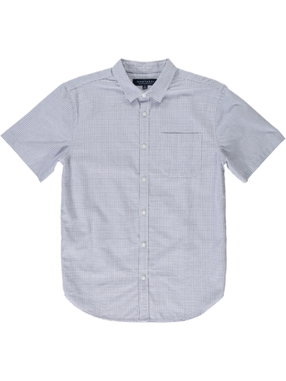 Short Sleeve Textured Shirt