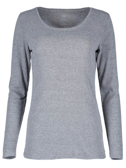 Organic Cotton Blend Long Sleeve Top Womens