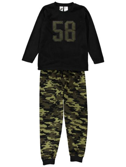 Boys Fleece Pyjama Set
