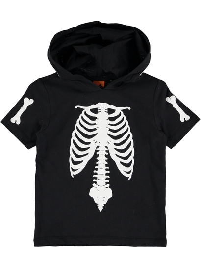 Toddler Boys Skeleton Tee