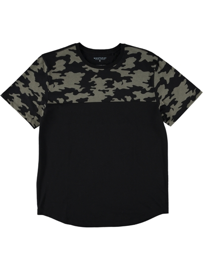 Printed Block T Shirt