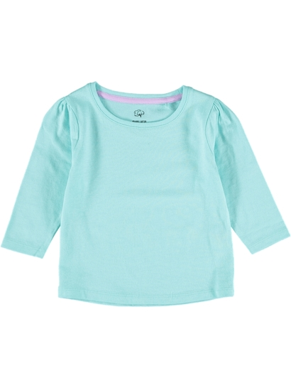 Toddler Girls Long Sleeve Organic Tee