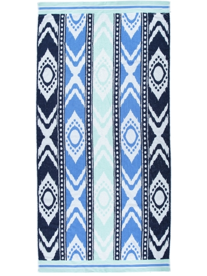 Jacquard Terry Beach Towel