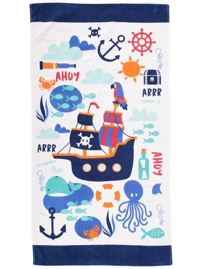 Kids Velour Beach Towels