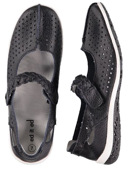 Womens Leather Comfort Shoe