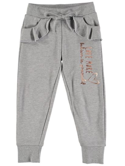 Toddler Girls Ruffle Trackpant