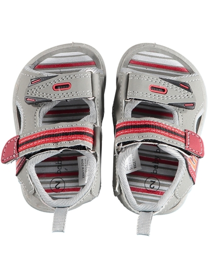 Baby Boy Hard Sole Strap Walker Sandal