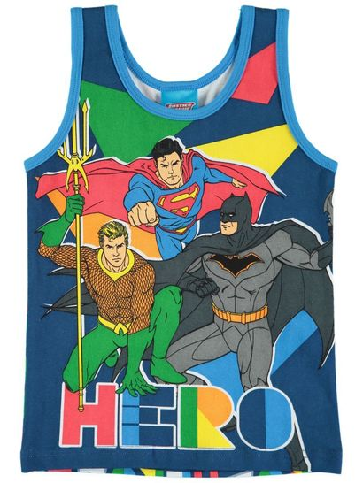 Boys Licence Vest - Justice League