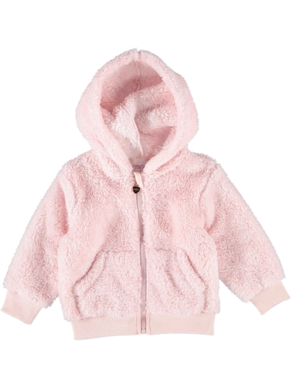 Toddler Girls Shaggy Jacket