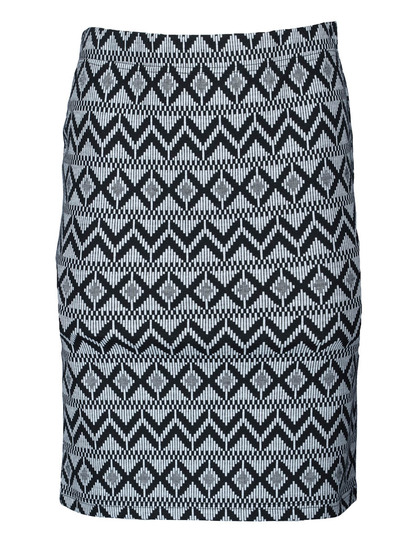Womens Jacquard Skirt