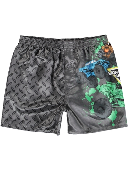 Boys Monster Jam Boxer Short