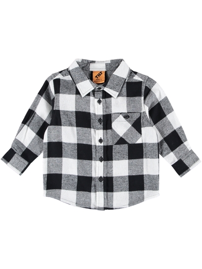 Boys Flannelette Check Shirt