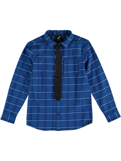 Boys Long Sleeve Shirt And Tie