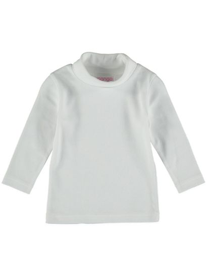 Toddler Girls Plain Skivvy