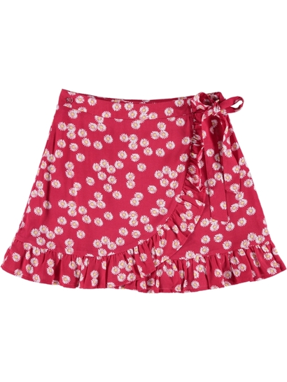 Girls Print Skirt