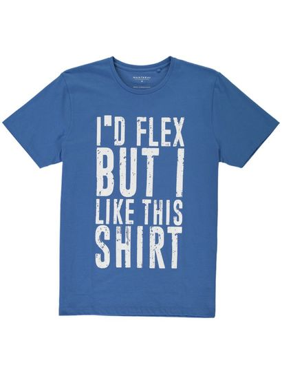 MENS SHORT SLEEVE SLOGAN TEE