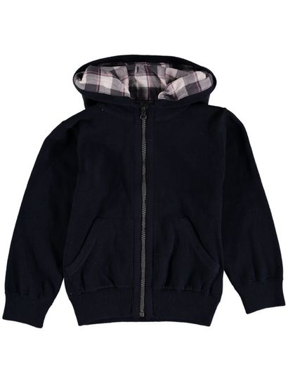Boys Hooded Knitted Jacket