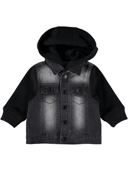 Baby Hooded Denim Jacket