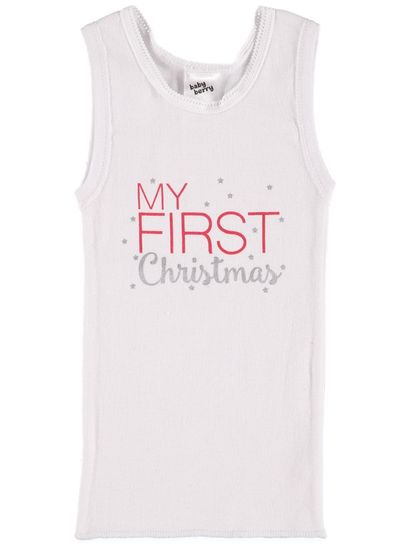 Baby Singlet Christmas