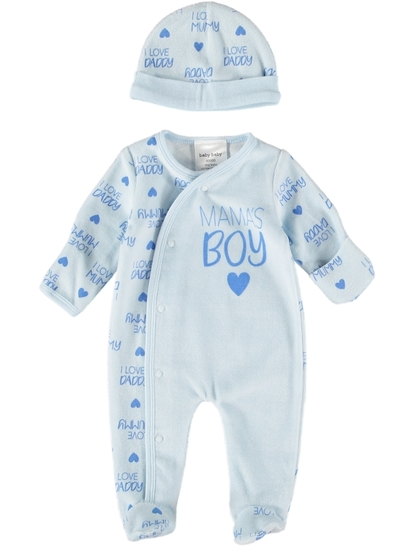 Baby Premature Velour Set