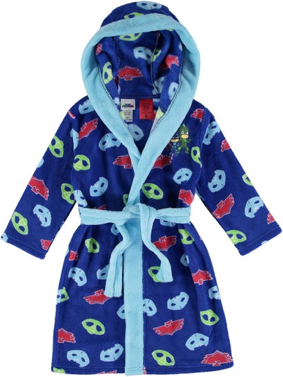 Toddler Boys PJ Masks Fleece Dressing Gown
