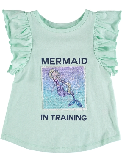 Toddler Girls Flip Sequin Tank