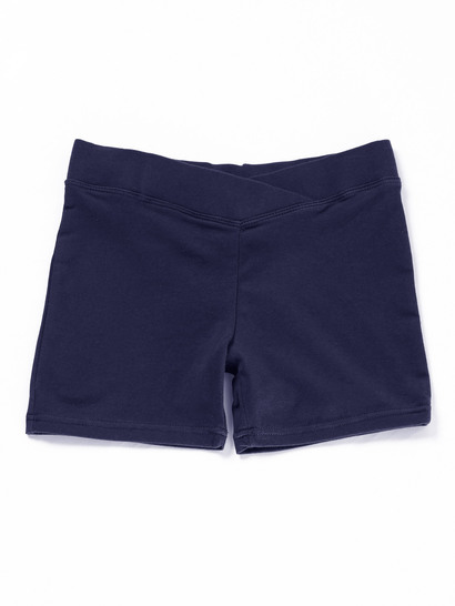 NAVY BLUE GIRLS BIKE SHORTS