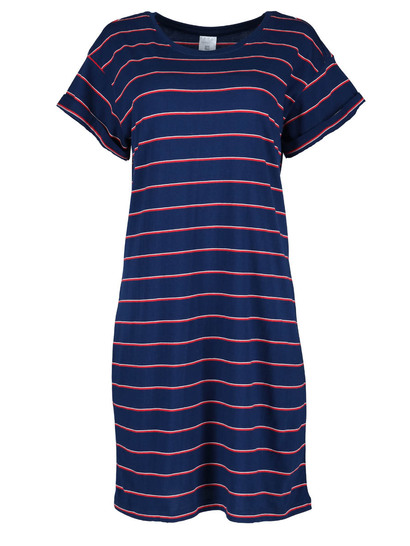 Womens Extended Sleeve Tee Dress