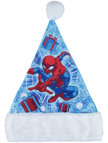 Spiderman Santa Hat