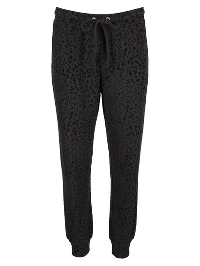 Womens Plus Flock Trackpant