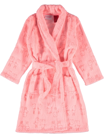 Toddler Girls Coral Fleece Gown