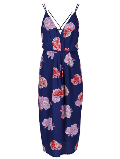 Miss Mango Strappy Maxi Dress