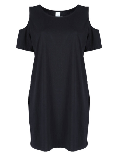Womens Cold Shoulder Dress
