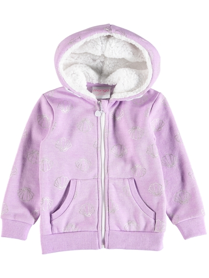 Toddler Girls Fleecy Hoodie