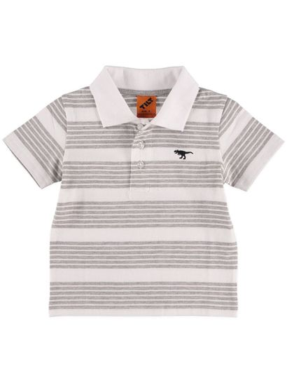 Boys Stripe Polo