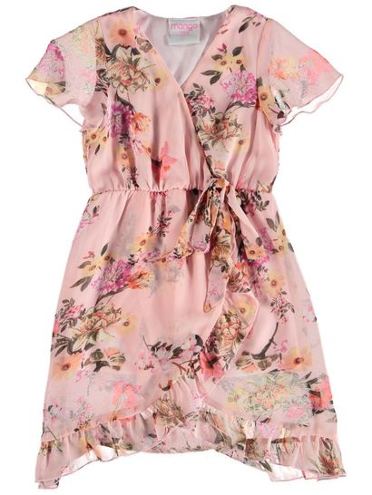 Toddler Girls Wrap Dress