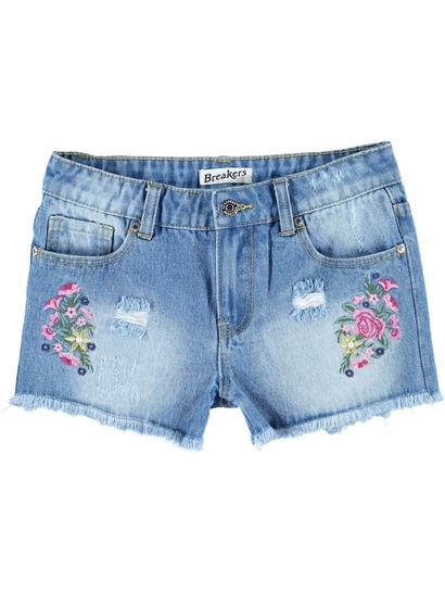 Girl Denim Shorts
