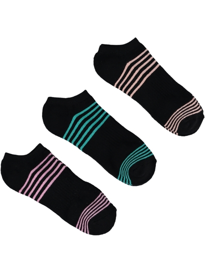 No Show 3Pk Sport Sock Womens