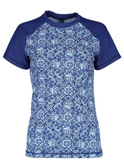 Womens Print Body Rashie