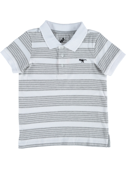 Toddler Boys Striped Polo