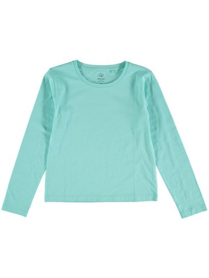 Girls Long Sleeve Certified Organic T Shirt