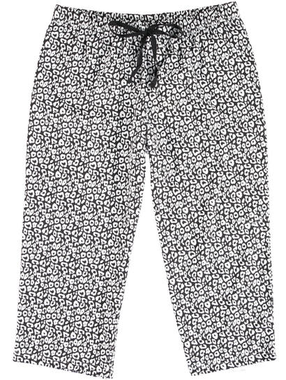Cropped Jersey Sleep Pant