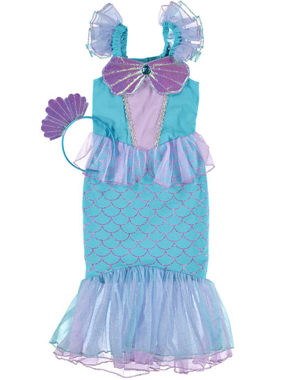 Toddler Girls Mermaid Outfit
