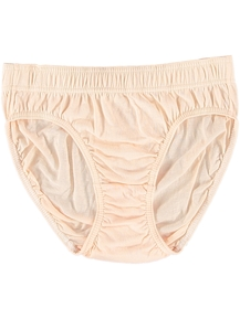 Womens High Cut Cotton Bikini