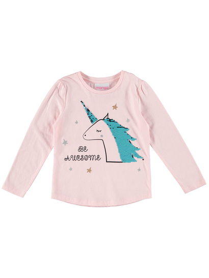 Toddler Girls Long Sleeve Tee