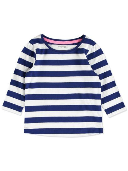 TODDLER GIRL STRIPE TEE