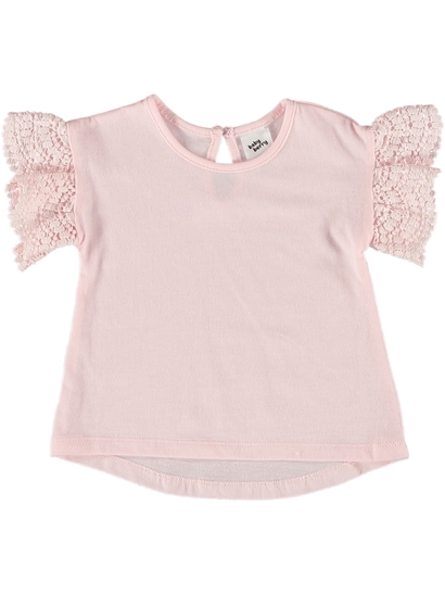 Baby Lace Sleeve T-Shirt