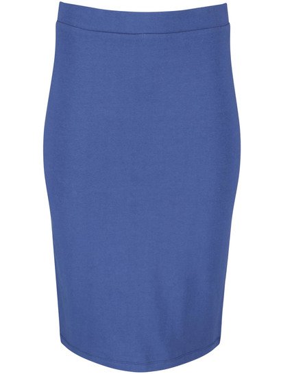 WOMENS PLUS PULL ON PENCIL SKIRT
